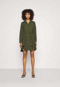 WAL G. - LAURY SHIRT DRESS - Shirt dress - khaki - 1
