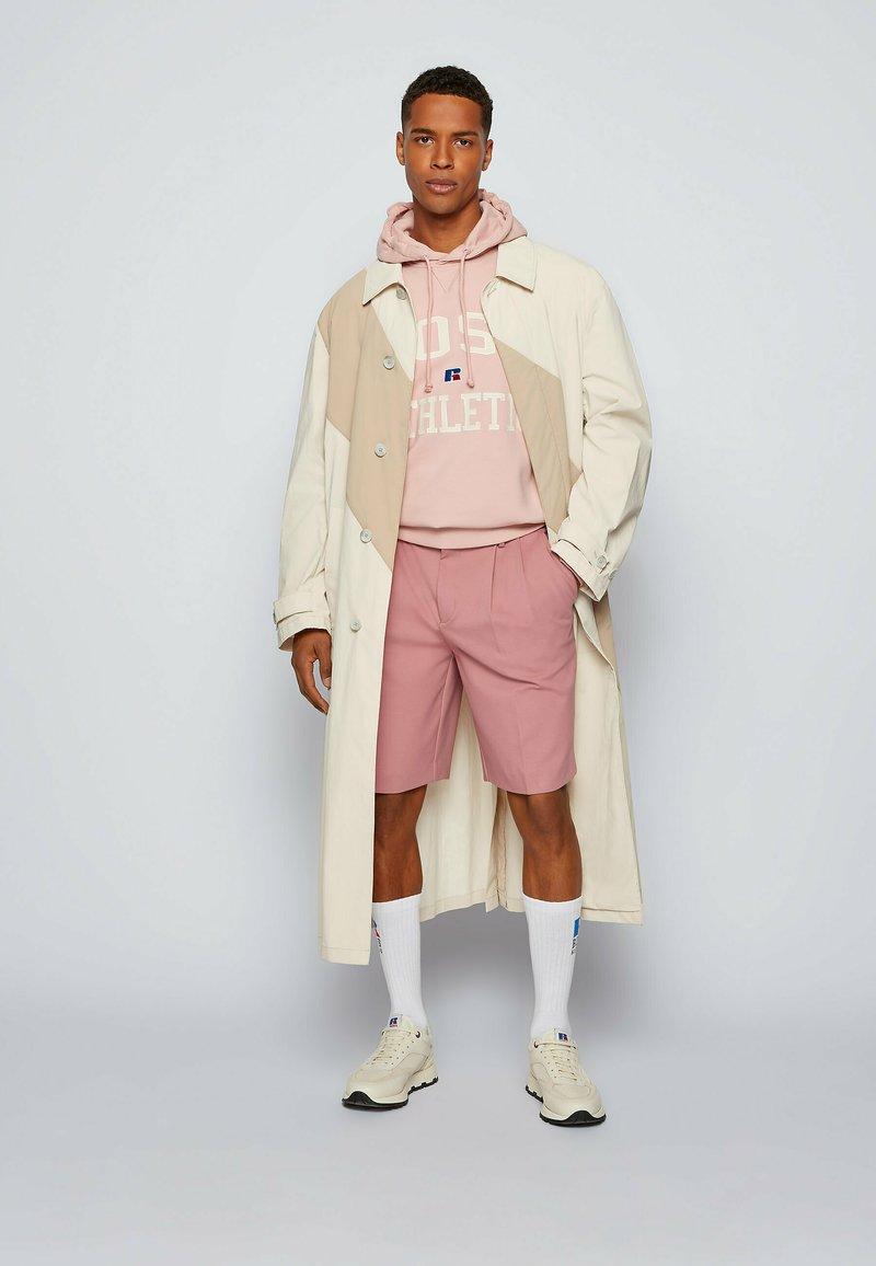 BOSS - DERVIN_RA - Classic coat - light beige