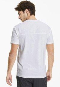 Puma - SCUDERIA FERRARI T7  - Print T-shirt -  white - 2