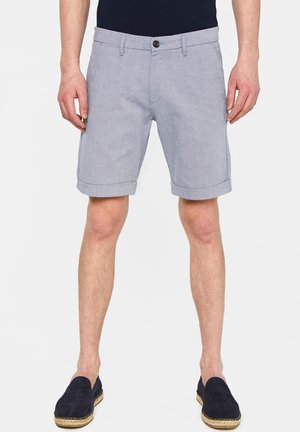 WE FASHION HERREN-SLIM-FIT-SHORTS - Shorts - dark blue