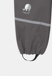 CeLaVi - BASIC RAINWEAR SOLID SET UNISEX - Waterproof jacket - grey - 4