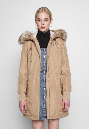 BONDED LIGHTWEIGHT ANORAK - Winter coat - khaki