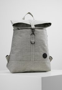 Enter - CITY FOLD TOP BACKPACK - Batoh - melange black - 0