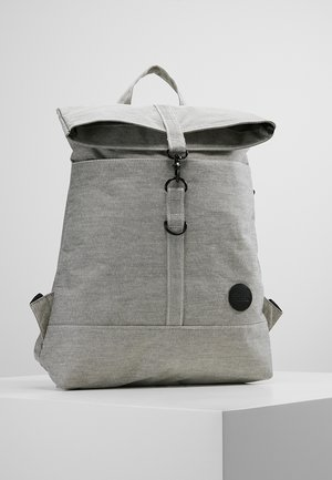 CITY FOLD TOP BACKPACK - Batoh - melange black