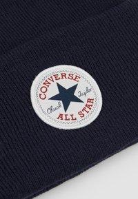 Converse - CHUCK PATCH TALL BEANIE - Beanie - obsidian - 5