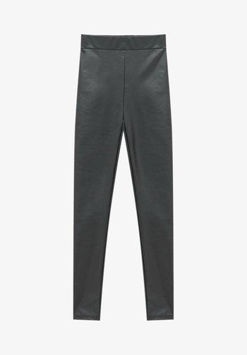 VINYL - Leggings - Trousers - black
