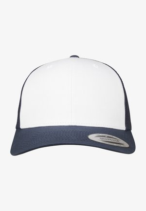 RETRO TRUCKER - Kšiltovka - navy/white
