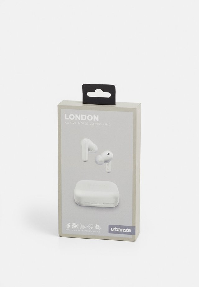 LONDON NOISE CANCELLING TRUE WIRELESS UNISEX - Hodetelefoner - white