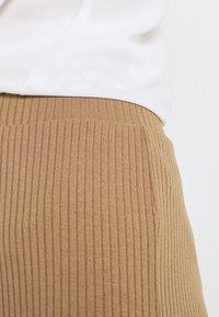 VILA PETITE - VIRIBBI PANTS - Trousers - tigers eye - 4