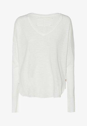 BOXY - Long sleeved top - blanc