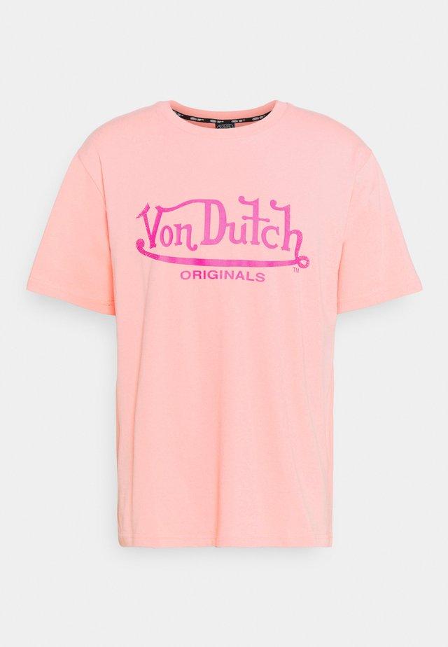 LENNON - Print T-shirt - peaches n' cream