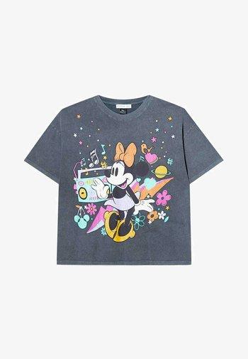 OVERSIZE DISNEY - T-shirt con stampa - dark grey
