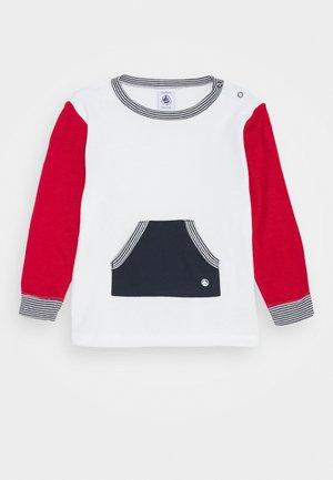T-shirt à manches longues - marshmallow/terkuit