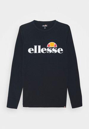 YANDIA UNISEX - T-shirt à manches longues - navy