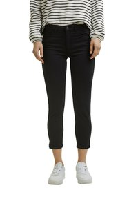 Esprit - MR CAPRI - Trousers - black - 0