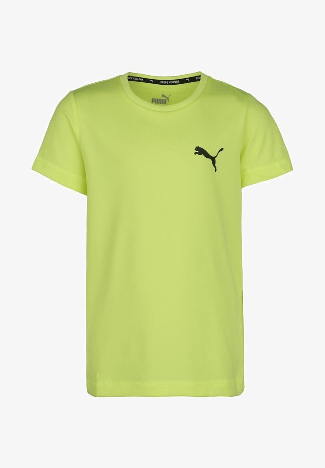 ACTIVE - Print T-shirt - fizzy yellow