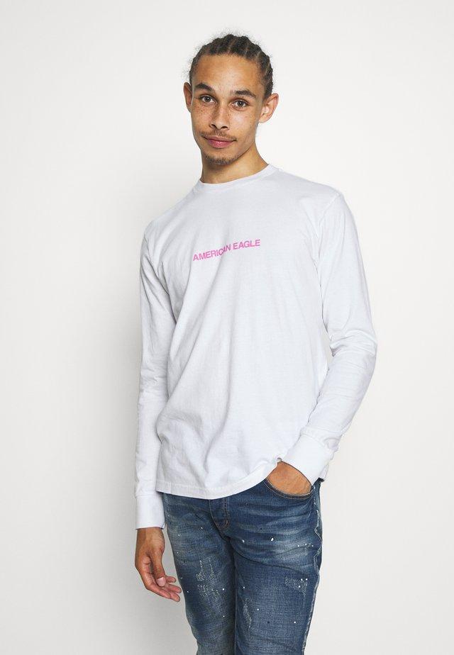 SET IN TEE - T-shirt à manches longues - air white