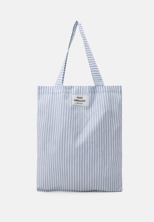 SACKY ATOMA - Tote bag - forever blue/off white