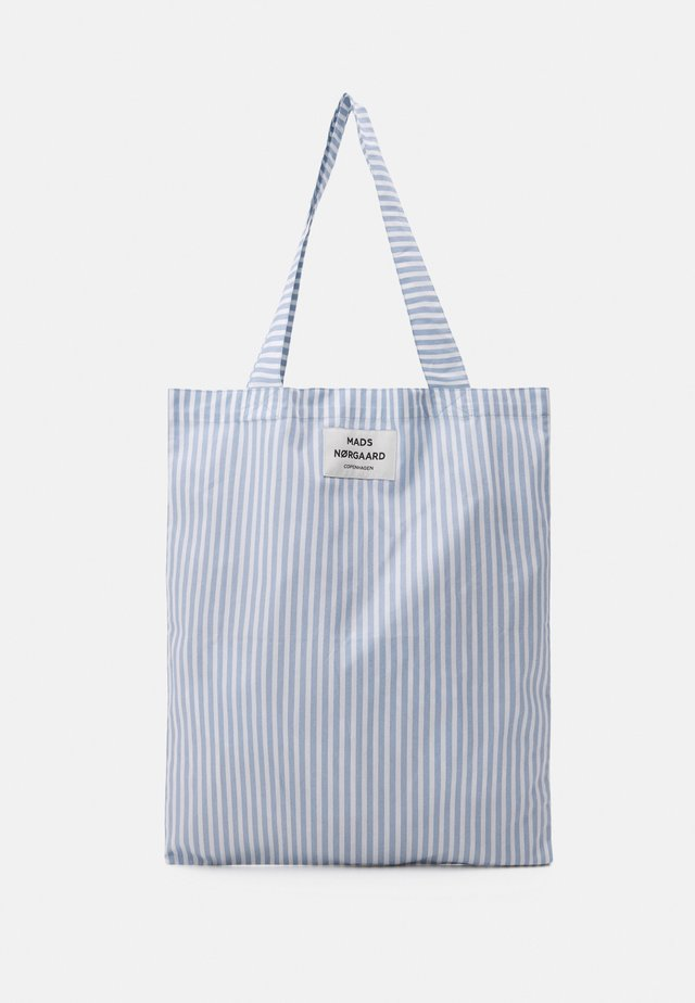 SACKY ATOMA - Shopper - forever blue/off white