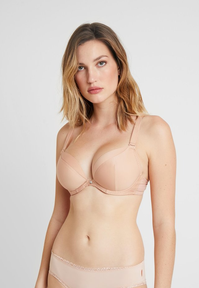 SUPER PLUNGE MULTIWAY PADDED BRA MICROFIBRE - Underwired bra - latte