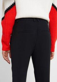 DRYKORN - FIND - Spodnie materiałowe - black - 5