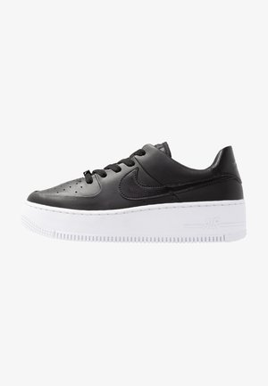AIR FORCE 1 SAGE - Sneakers basse - black/white