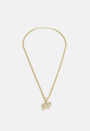 ONE HUNDRED NECKLACE - Necklace - gold-coloured