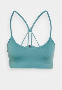 Light support sports bra - light green
