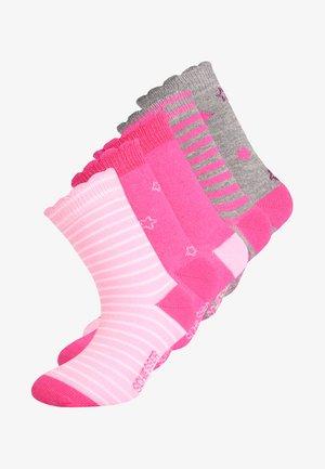 5 PACK - Ponožky - rose