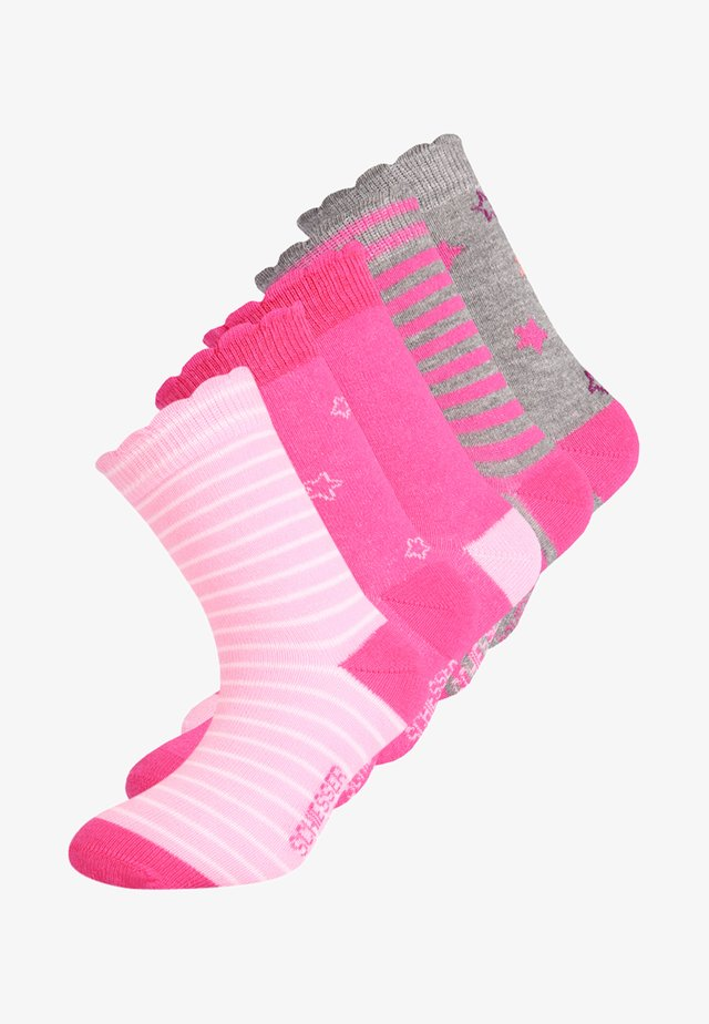 5 PACK - Chaussettes - rose
