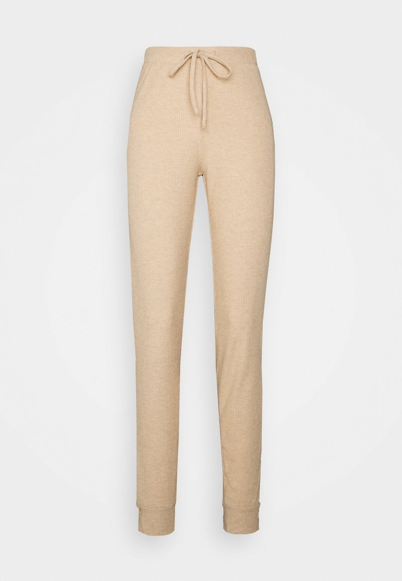 ONLY Tall - ONLZOE LONG PANTS - Tracksuit bottoms - beige