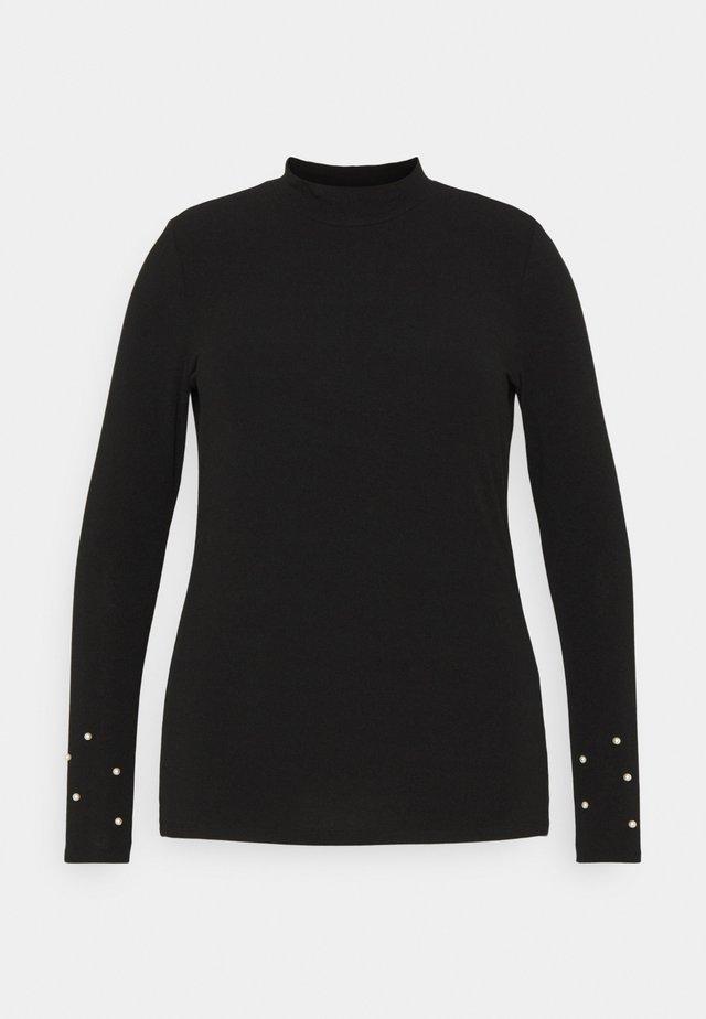 CARSARA  - Long sleeved top - black