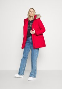 Tommy Hilfiger - SORONA PADDED - Winter coat - primary red - 1