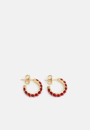 HEIDI - Kolczyki - gold-coloured/red