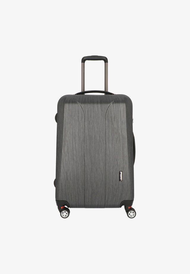 NEW CARAT SPECIAL EDITION  - Wheeled suitcase - black brushed