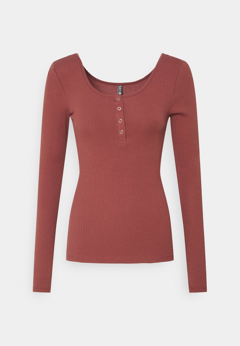 PIECES Tall - PCKITTE - Long sleeved top - apple butter