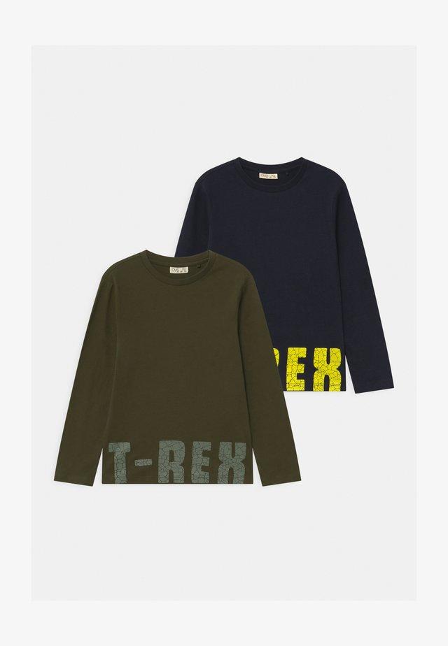 2 PACK - Langærmede T-shirts - deep depths