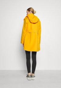Didriksons - FOLKA - Waterproof jacket - saffron yellow - 2