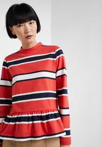 Libertine-Libertine - WAKE - Long sleeved top - red stripe - 4