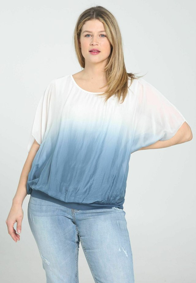 T-shirt print - indigo