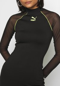 Puma - BODYCON DRESS - Vestido de tubo - black - 4