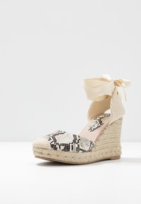 New Look - TRINIDAD - High heeled sandals - stone niu - 4
