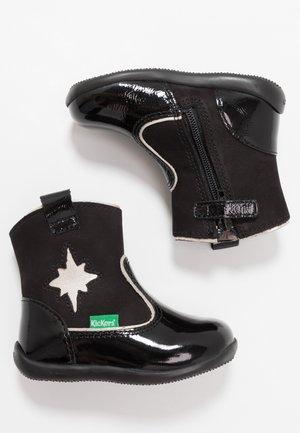 BIBOOTS - Vysoká obuv - shiny black