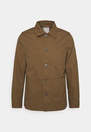 JPRBLACANE - Tunn jacka - dark coat khaki