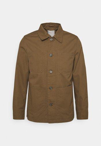 JPRBLACANE - Korte jassen - dark coat khaki