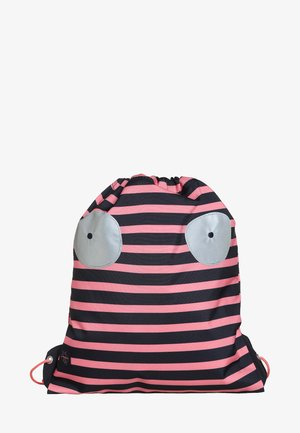 MINI STRING BAG LITTLE MONSTERS MAD MABLE SPORTBEUTEL - Rucksack - pink/blue