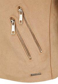 Rino&Pelle - Faux leather jacket - tan - 4