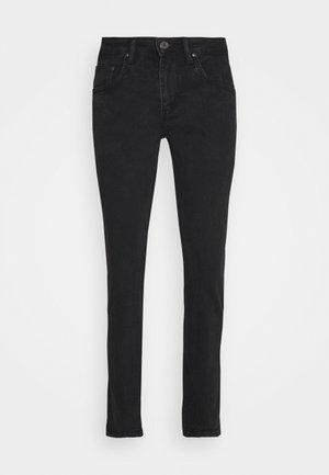 Slim fit jeans - black vintage wash