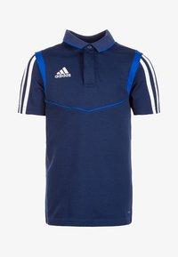 adidas Performance - Sports shirt - dark blue - 0