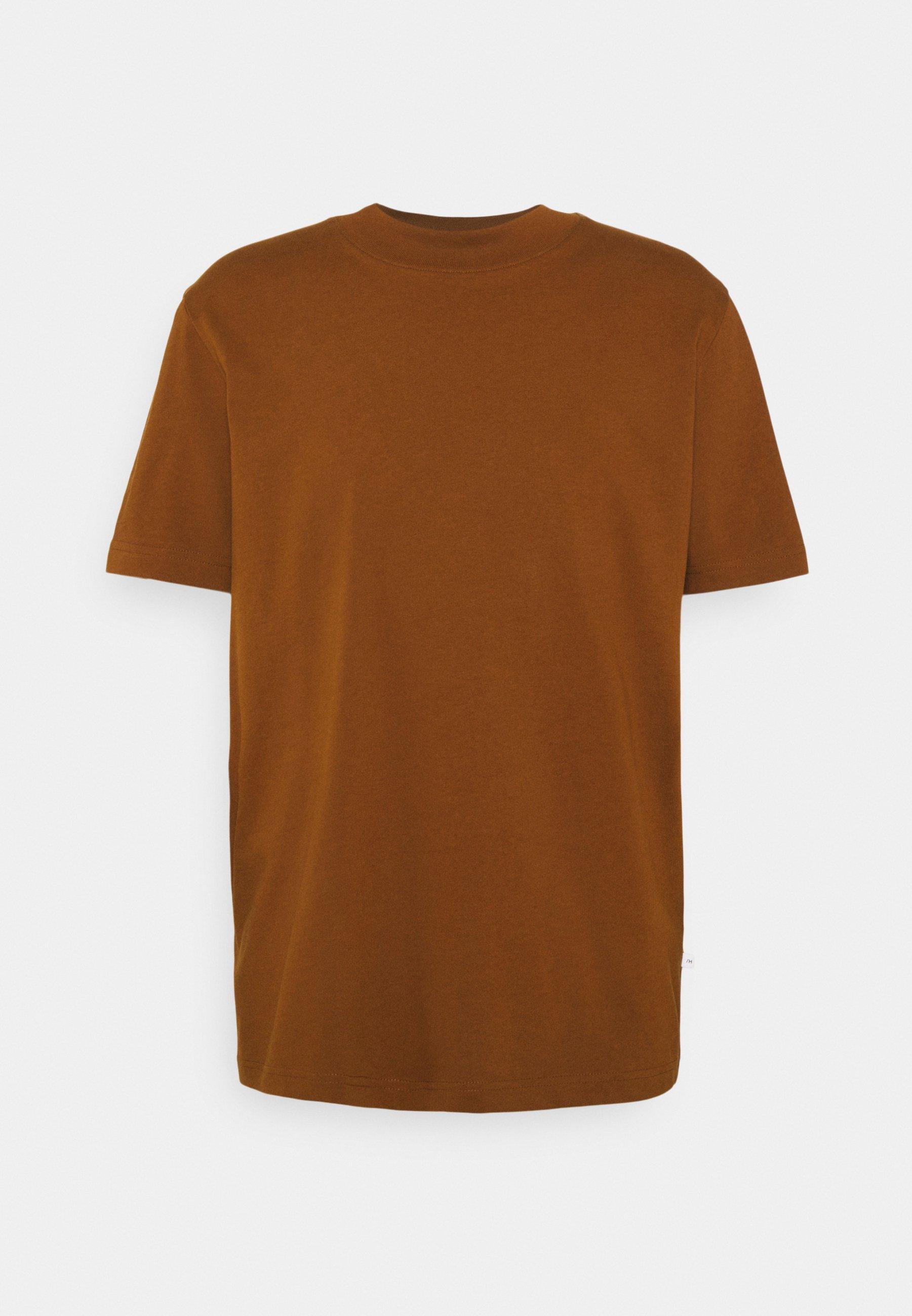 Men SLHRELAXCOLMAN O NECK TEE - Basic T-shirt
